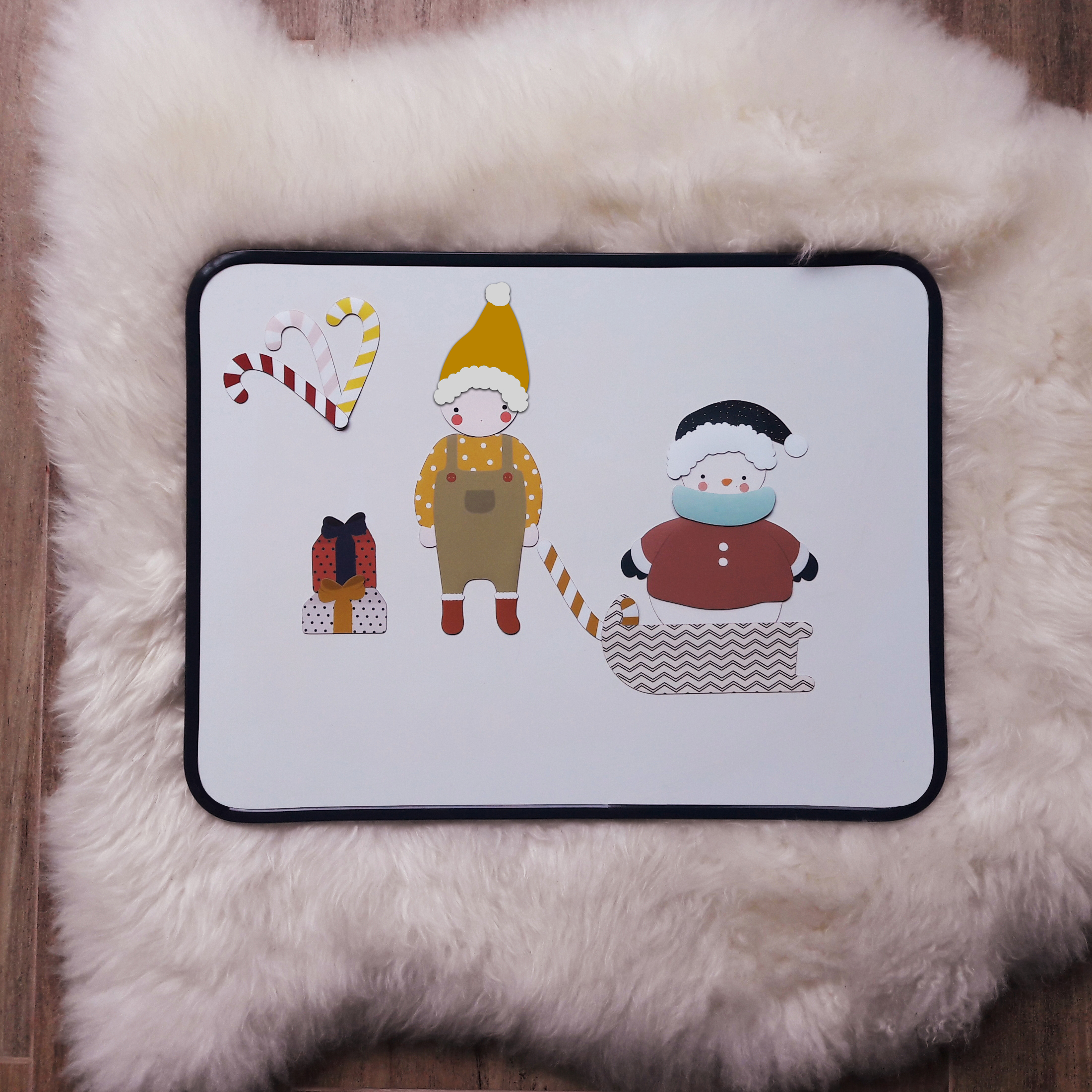 Ma Cabane a Reves Magneetset small - kerst